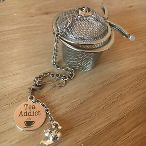 Tea Addict Tea Infuser Small Stainless Steel 4.5cm New Teapot Hot Beverage New