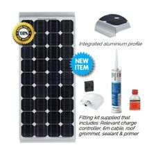75W Vechline Mono-crystal Solar Kits for Campervans, Motorhomes, Boats...