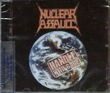 NUCLEAR ASSAULT HANDLE WITH CARE + LIVE AT THE HAMMERSMITH ODEON SEALED CD NEW