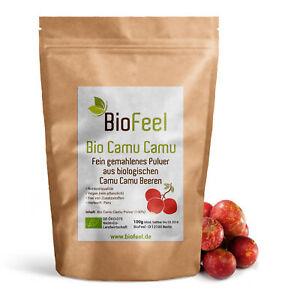 BioFeel -  Bio Camu Camu Pulver, 100g