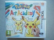 Pokémon Art Academy Jeu Vidéo Nintendo 3DS