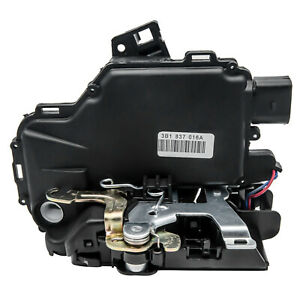 Front Right Driver Side Door Lock Mechanism For Golf Mk4 Bora Passat B5 AU