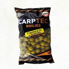 Dynamite CARPTEC 15mm Pineapple & Banana Boilies 1kg Bag Shelf Life Carp Bait