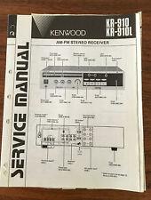 Kenwood KR-910 KR-910L Receiver Service Manual *Original*