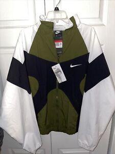 Nike Sportswear 1996 Archive Woven Men Jacket Green Black Size L BV5210-331
