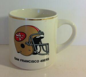 San Francisco 49ers VTG 1988 Super Bowl XXIII Coffee Mug Team Roster NFL