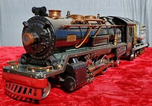 1933-35 Lionel 260E Black/green 260T locomotive and tender with chugger