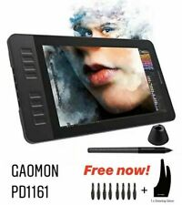 GAOMON PD1161 IPS HD Graphics Drawing Digital Tablet With Battery-Free Pen New.