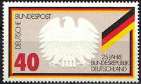 807 postfrisch aus Block 10 BRD Bund Deutschland Briefmarke Jahrgang 1974