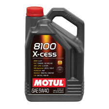 MOTUL 8100 X-CESS 5W40 SYNTHETIC ENGINE OIL 5 LITRES 5L