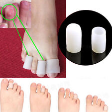 Pair Reusable Soft Gel Toe Caps Cover Toe Protector Blisters Corns Pain Relief S