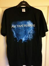 Official ALL THAT REMAINS T Shirt - Size M Never Worn!! Vintage 2006 Metalcore