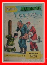 SUPER ALBO SPECIAL MANDRAKE 191 ed. Spada 1967 Inferno Bianco