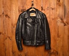 SCHOTT PERFECTO RARE 116 VINTAGE WOMEN'S RIDERS MOTORCYCLE LEATHER JACKET L-14