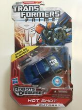Transformers Prime Robots in Disguise RID Deluxe Class Hot Shot