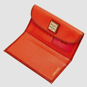 NEW! Dooney & Bourke Collins Continental Clutch/Wallet-Geranium