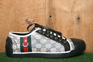 GUCCI GG Supreme Canvas Sneakers Women's US 9