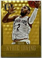 2014-15 Gold Standard Kyrie Irving 53/79 GOLD (AU) Parallel Cavaliers Nets Duke