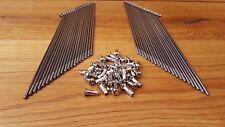 Speichen Steib LS200, S350, S500, TR500 (19 ZOLL) VA + Nippel (40 Stück)