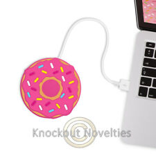Freshly Baked USB Cup Warmer - Donut Novelty Gift Item