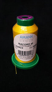 1000m Isacord thread any  COLOR (colors 1306-2115) NEW IN WRAPPER