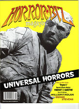 WoW! Horror Biz #5 Universal's Mummys! Brinke Stevens! Special Effects Master!