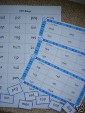 Teaching Resources - Literacy - CVC Bingo