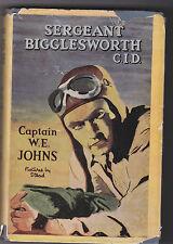 CAPTAIN W.E.JOHNS.BIGGLESWORTH C.I.D.NICE!