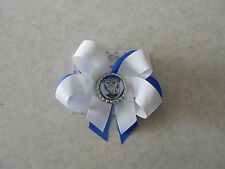 Canterbury- Bankstown Bulldogs Hair Bow