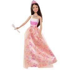 Barbie Modern Princess Party Doll Brunette Melon Dress 2011 Girl NEW
