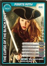 DR WHO MONSTER INVASION SET 2 EXTREME CARD: 219 PIRATE AMY