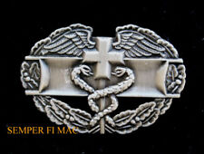 COMBAT MEDIC BADGE HAT PIN US ARMY MOS 68-Whiskey 68W DOC DOC US ARMY RED CROSS
