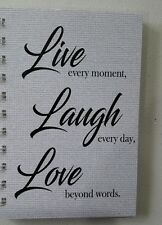 2018-2019 mini diary LLL quote A6