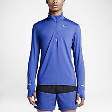 Men's Nike Dri-Fit Element Half Zip Game Royal Sz S-XL 683485-480 FREE SHIPPING
