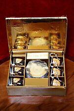 Vintage Porcelain 'Van Trading' 12 pcs cup & saucer Coffee Set