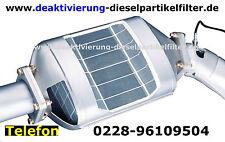 Dieselpartikelfilter Volvo XC90 2.4D 163PS 185PS DPF off AGR Deaktivieren Kat