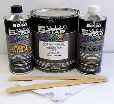 5 Star Low Voc high performance Deep Jet Black urethane auto paint single stage