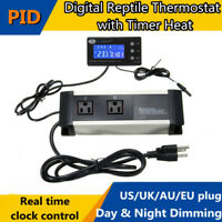 Thermostat Temperature Controller Day & Night Dimming For Reptile