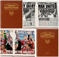 PERSONALISED English FOOTBALL TEAM Club History NEWSPAPER Book Gift Ideas FC Him