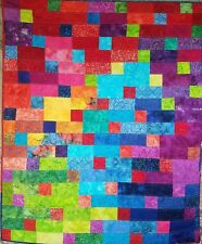 Magical Squares And Rectangles Art Quilt