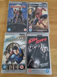 Sony psp umd movies Bundle Superhero/comic