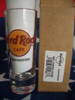 HRC Hard Rock Cafe Manchester Shot Glass Shotglass Classic Logo New Style 2019