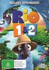 Rio / Rio 2 DVD NEW
