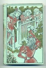 c1910 LITTLE MOTHER BUNCH, A STORY FOR GIRLS, M. Molesworth, Poster-Style Cover