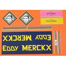 Merckx Molteni decal  set choices of head decals and Colnago, Kessels, Derosa