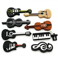Musical Instruments Model USB Flash Drive Microphone/piano/guitar Pen Drive New