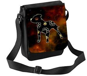 Staffordshire Bull Terrier Bag Shoulder Bags Funky Staffy Bag Thankyou Gift
