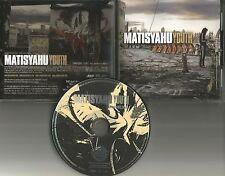 MATISYAHU Youth w/ RARE SINGLE EDIT PROMO Radio DJ CD Single 2006 USA MINT