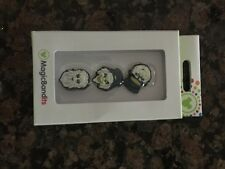 Disney Parks Haunted Mansion Ghosts Magic Band Bandits Set of 3 Charms