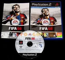 FIFA 08 Ps2 Versione Ufficiale Italiana 1ª Edizione ••••• COMPLETO